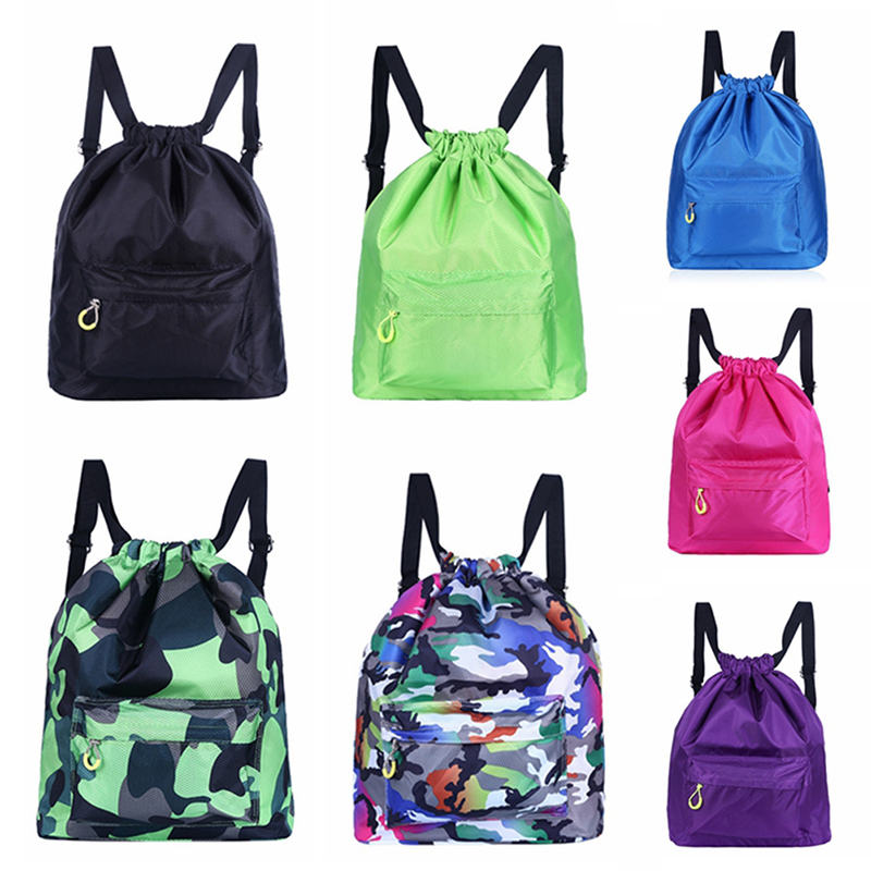 Unisex Backpack Sports Gym Bag Swimming Backpack Waterproof Drawstring Dry Wet Bag Pool Beach Fitness Bag