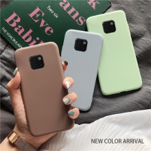 matte silicone phone case on for huawei mate 10 lite 20 lite mate20 ma