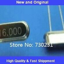 Один лот 10 шт 16,000 МГц 16 МГц кристалл HC-49/с низкий профиль 16 МГц