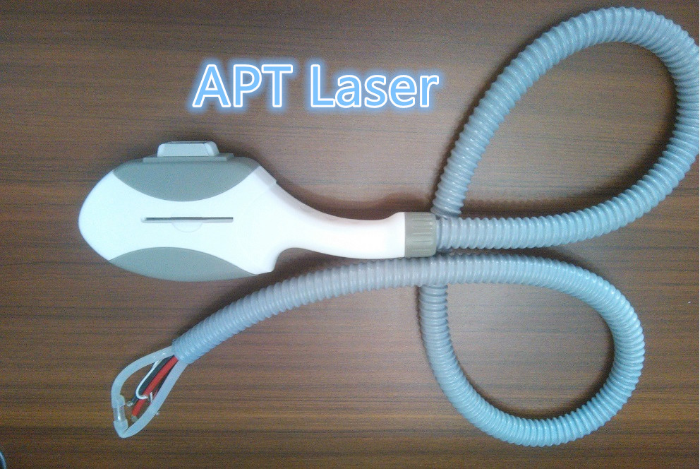 Filtered IPL Handpiece matching IPL or E-light/SHR/ Beauty machine