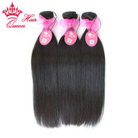 Queen Hair Products Brazilian Virgin Hair Straight 100% Unprocessed Human Hair No Shedding No Tangle Fast Shipping 3pcs/Lot