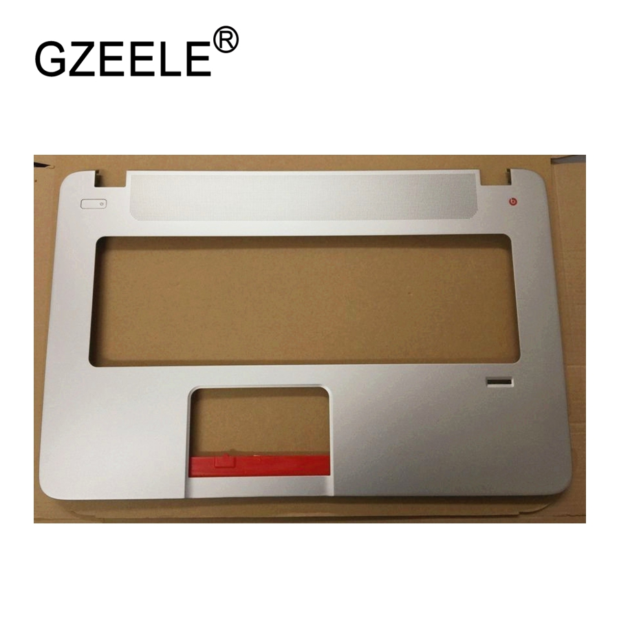 GZEELE used Laptop For HP For Envy17 Envy 17-J 17-j000 Series 17 Shell Upper Case Palmrest Cover topcase keyboard bezel gzeele new laptop for hp for envy17 envy 17 j 17 j000 series 17laptop lcd screen bezel touch version b shell