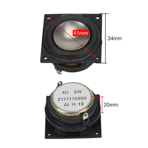 Image 3 - 4OHM Mini hoparlör neodimyum 1.25 inç tam aralıklı 34*34mm için büyük hacimli Bluetooth cep boynuz DIY 6W