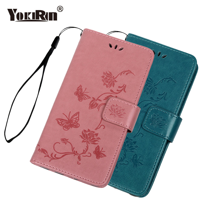 Lotus Butterfly Embossed Case For Huawei Nova 4 Cover Flip PU Leather + Soft TPU Shell Case For Huawei Nova 4 Phone Shell Coque