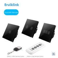 EU UK Standard SESOO Touch Wall Light Switch 1 Gang 2 Gang 3 Gang 1 Way