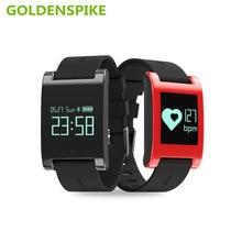 GOLDENSPIKE DM68 Смарт Браслет Артериального Давления Монитор Сердечного ритма Bluetooth Вызов SMS Оповещения Умный Браслет Деятельности Фитнес-Трекер