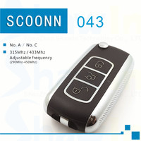 20pcs SK-043 434MHz VW B5 style wireless universal car remote No.A fixed code on garage door, car remote key