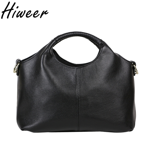 42a1711e5293 2018 Handle Hobos Genuine Leather Bags Sale Tote Multifunction Handbag  Shoulder Crossbody Casual Women Bag Vintage