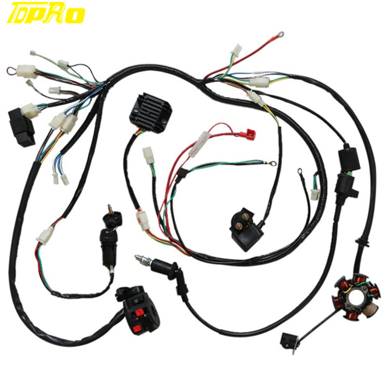 11 Pole Stator Gy6 Wiring Diagram Tao Tao 50cc Scooter