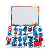 Children EVA Magnetic Metal Drawing Board Kids Drawing Pad Toys Uppercase Lowercase Alphabet Number Educational Writing Toys