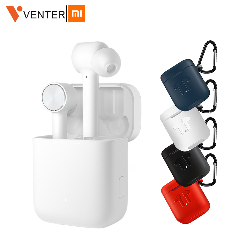 In Stock Xiaomi Airdots Pro Mi Air TWS Bluetooth Earphone ANC Switch ENC HD Auto Pause Tap Control For Ios & Android