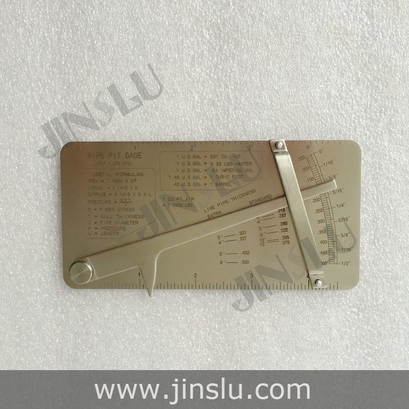 Pipeline Concave Inspection Ruler made of stainless steel and easy to use Welding Gauge Gage jasjit kaur navneet sharma and harpal singh implants made easy