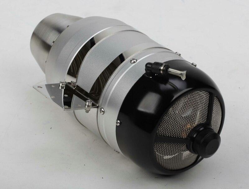 Version sans brosse 14 KG de turbojet de moteur de Turbine sans brosse de Swiwin SW140B pour l'avion de Turbin de rc
