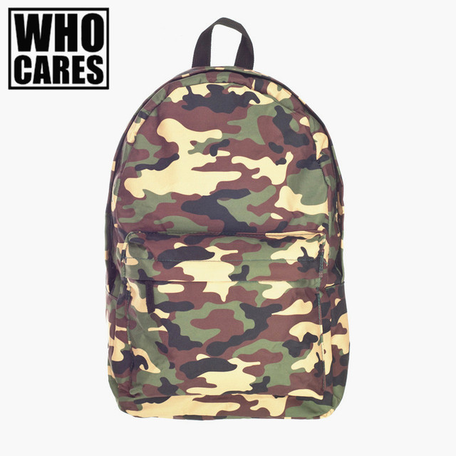 Camouflage military backpack Women 2016 Fashion laptop backpacks School Bags for teenagers Backpacks sac a dos mochilas