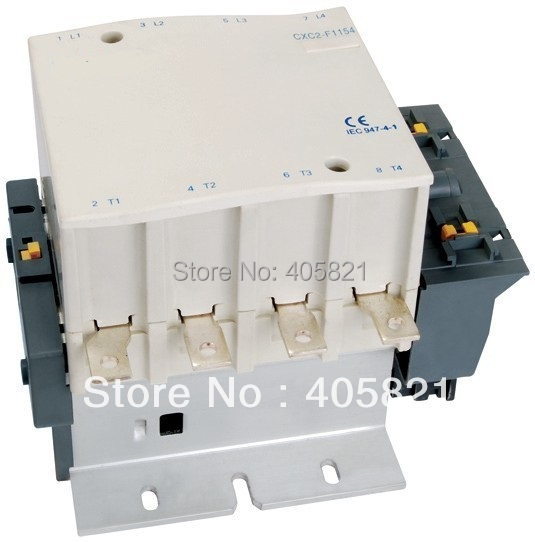 4P AC contactor 4NO CJX2-F115004 cjx2 115n mechanical interlocking contactor 115a