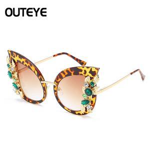 03358bcbe3 OUTEYE Vintage Design Luxury Sun Glasses De Sol Feminino