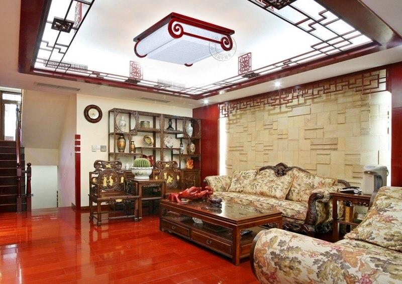 Chinese stijl houten antieke plafond woonkamer slaapkamer entree