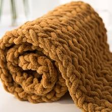 160 г/104 м супер дешевая толстая пряжа для вязания шарфа, массивная пряжа для вязания, пряжа из мериносовой шерсти, одноцветная, Толщина 6 мм