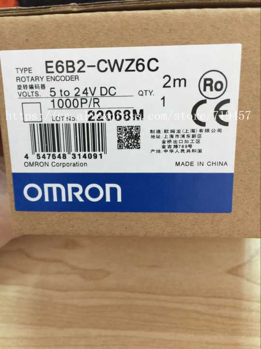 FREE SHIPPING %100 NEW E6B2-CWZ6C 1000P/R encoder