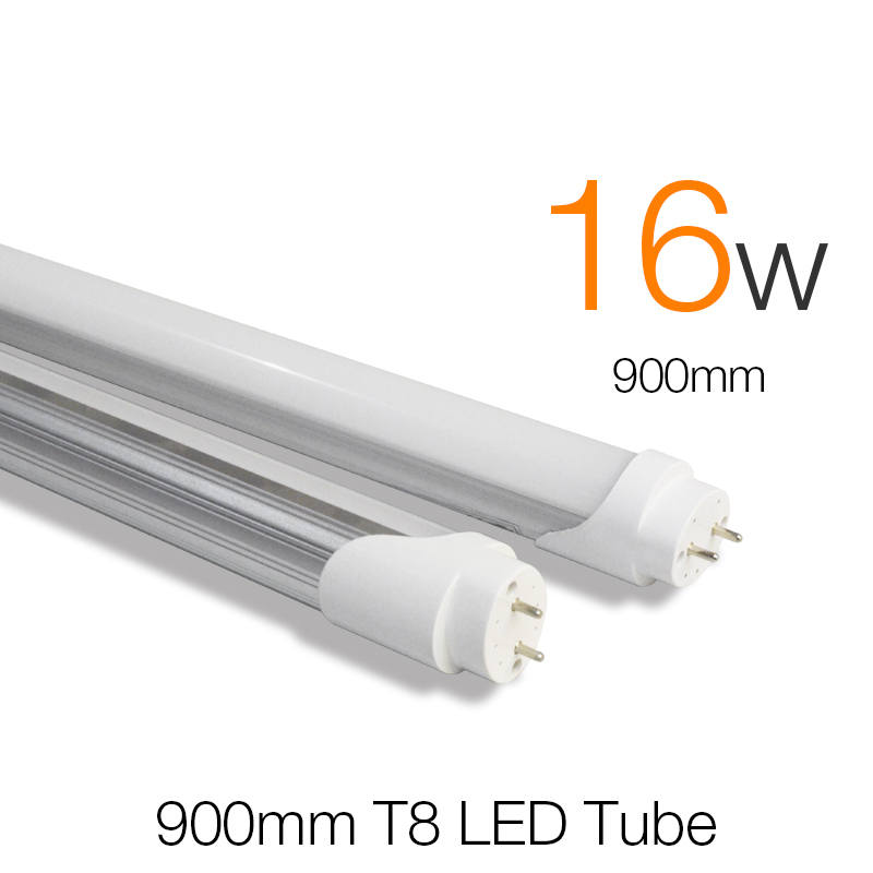 t8 led tube 900mm 16w smd 2835 super brightness tubetes. Black Bedroom Furniture Sets. Home Design Ideas