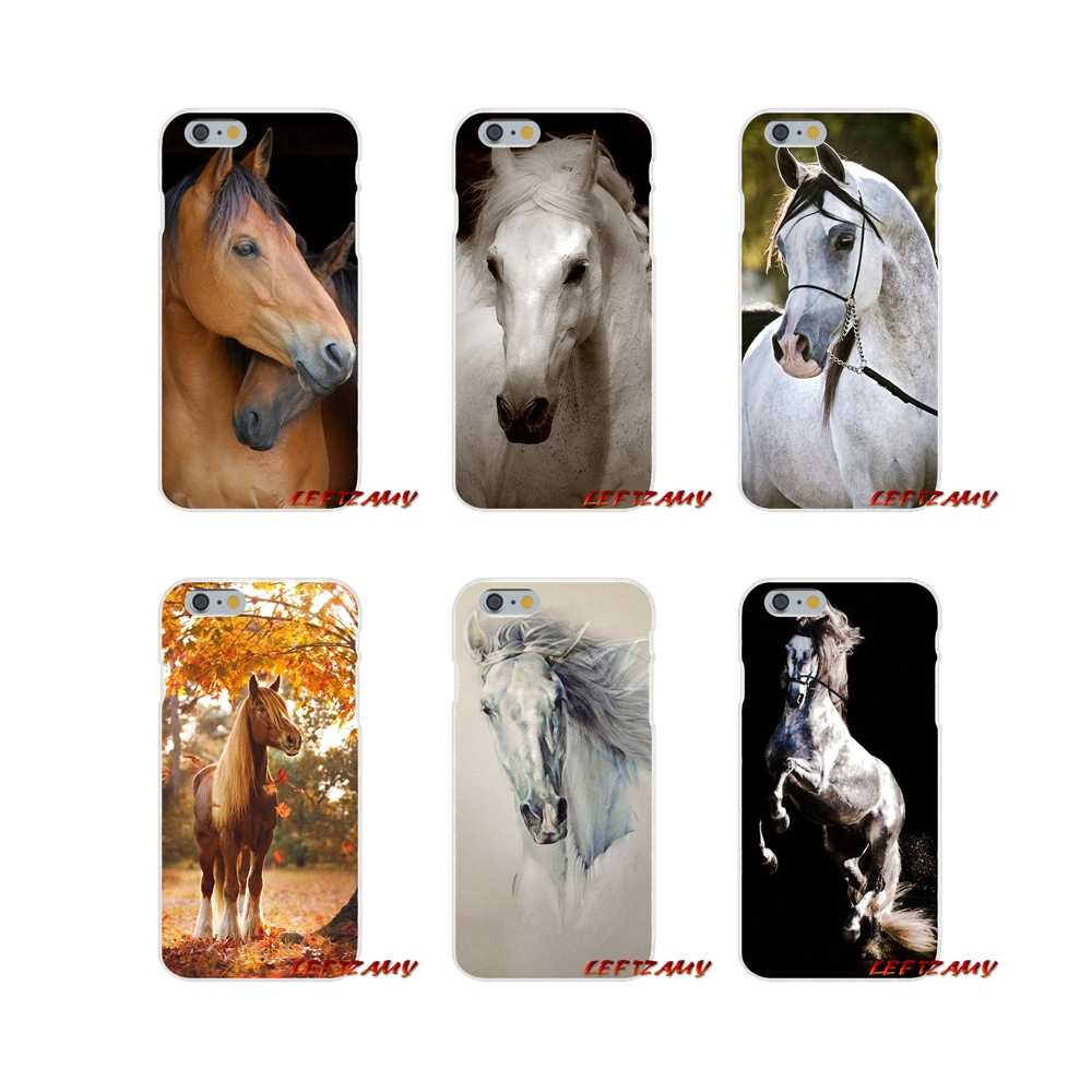 For Samsung Galaxy A3 A5 A7 J1 J2 J3 J5 J7 2015 2016 2017 Accessories Phone Cases Covers Watercolor horse Running Horses