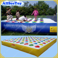 Giant Twister Game,5 meters Twister Game for Adults, Inflatable Twister Game