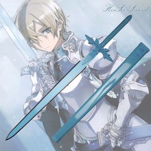Cosplay Sword Art Online Eugeo Blue Rose Sword Japanese Anime Cartoon Katana Sword Real Weapon