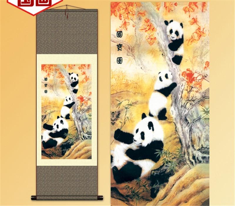 New christmas decorations for home decor anime Panda wall art prints ...