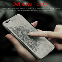 For iphone 6S Plus Case Funda Magnetic Fashion Shockproof Fabric Cloth Case For iphone 6S Plus Phone Cover For iphone 6 6s Plus kykeo красный iphone 6s plus