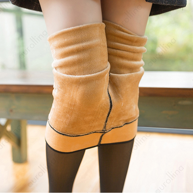 Woman Winter Thick Tights 1821 (1)