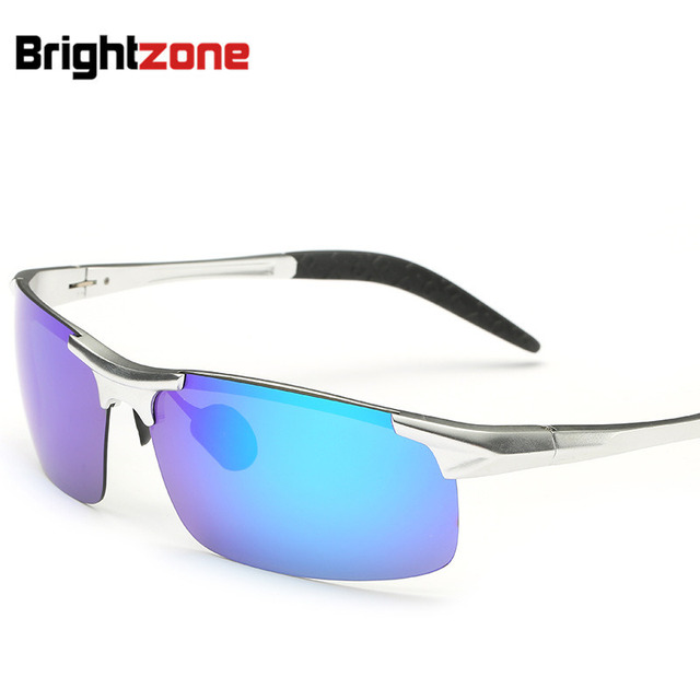 Aluminum Magnesium   Sunglasses Outdoors Sport Glasses Colorful Sunglasses Night Vision Goggles In Stock oculos de sol gafas