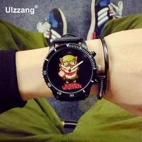 2016 New Hot Sale Timor Bling Monk LOL Game High Quality Rubber Wristwatches Wrist Watch For