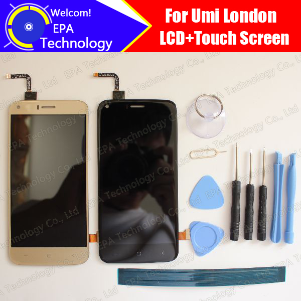 Umi London LCD Display Touch Screen Digitizer 100 Original Tested LCD Screen Glass Panel For London