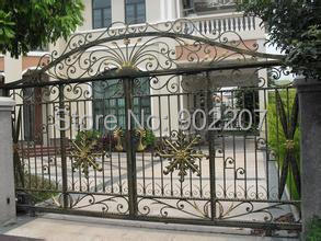 Electronic Gate Systems White Metal Garden Gates Wrought Iron Manufacturers