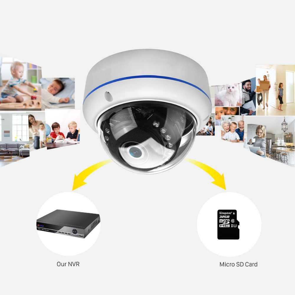 Caméra Wifi ANBIUX 2MP 32G carte SD Yoosee APP ONVIF caméra IP 1080P 720P IR 20M Vision nocturne caméra extérieure avec carte SD anti-vandalisme