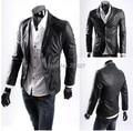Sale plus size XXXL 4XLor 5xl 6xl Best quality high quality PU leather jackets men winter jackets dropship free Shipping