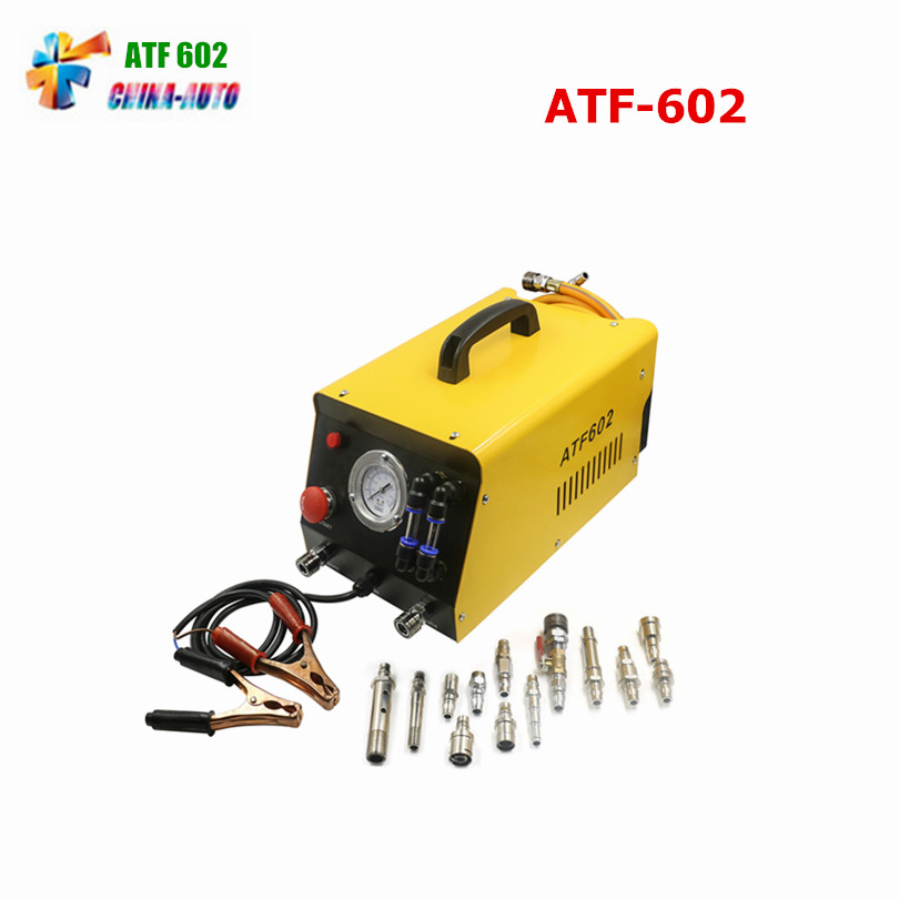 2018 AUTOOL Newest ATF602 Car Automatic Transmission Fluid Exchanger 12V Auto Gearbox Oil Exchange Cleaning Machine
