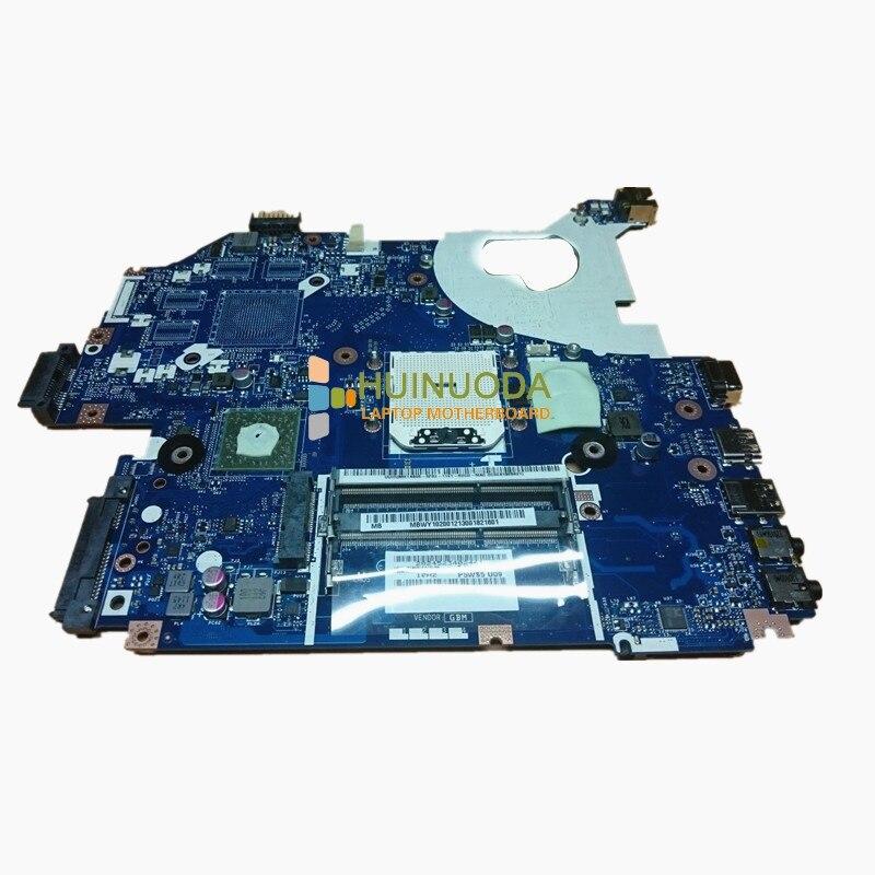 все цены на NOKOTION Laptop motherboard for Gateway NV55 NV55S main board LA-6973P MBWY102001 DDR3 218-0755046 3KMFG P5WS5 U09 MB.WY102.001 онлайн