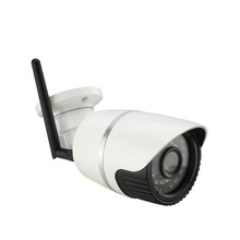 Waterproof outdoor wireless card wifi 1080P 2.0MP IP network camera P2P onvif LED lights night vision security  TF