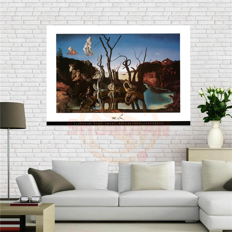 Acquista all 39 ingrosso online salvador dali poster da for Casa personalizzata online