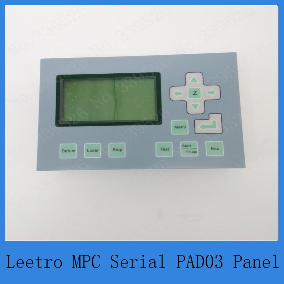 Co2 sistema di controllo laser Leetro pannello di controllo PAD03 per il taglio laser o incisoreCo2 sistema di controllo laser Leetro pannello di controllo PAD03 per il taglio laser o incisore