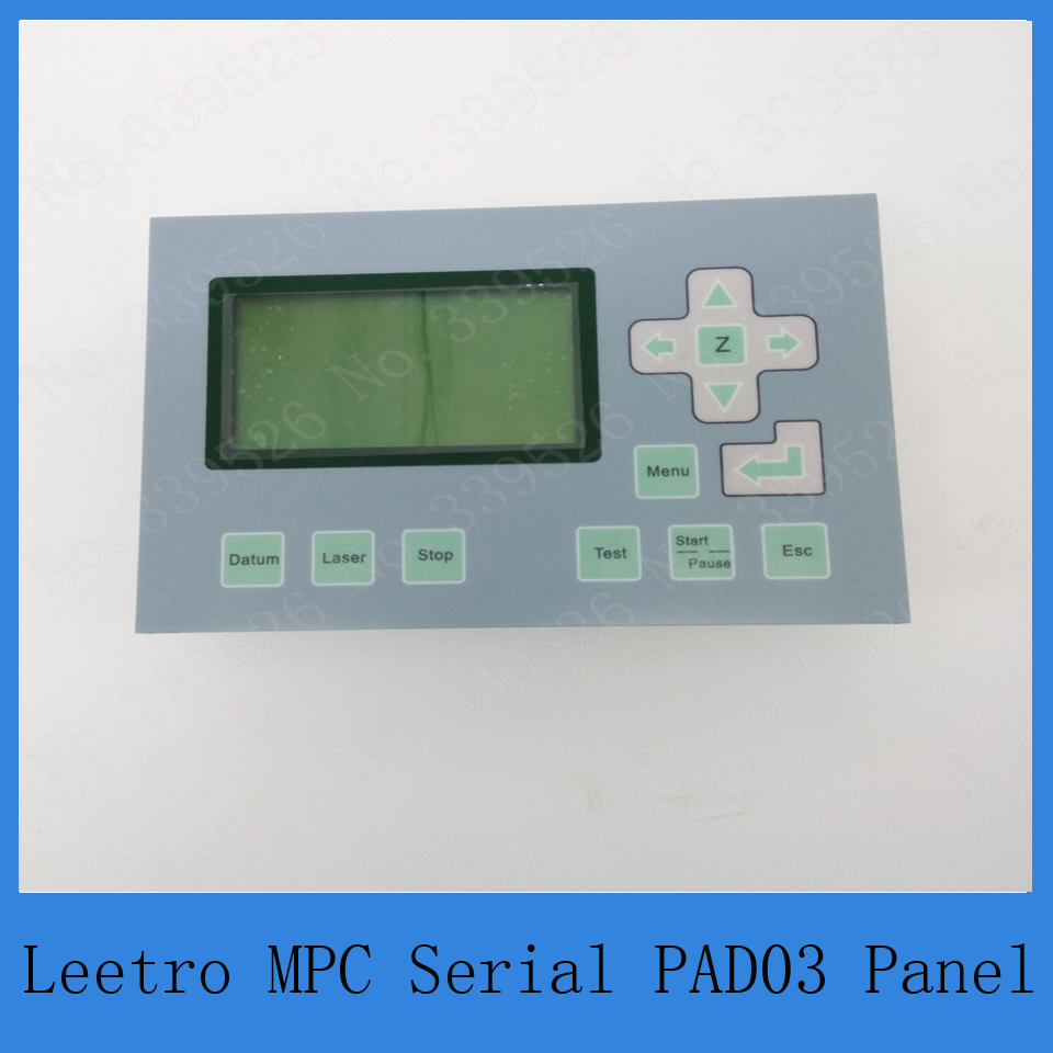 co2 laser control system Leetro control panel PAD03 for laser cutter or engraver economic leetro mpc 6525a 6535 motion controller for co2 laser cutting machine upgrade of 6515