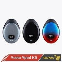 Newest Yosta Ypod Starter Kit Pod Vape Pen 500mAh with 2ml Refillable Cartridge for E juice CBD Oil Vs Smok Novo Vaper