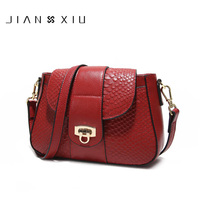 JIANXIU Brand Fashion Women Messenger Bags Sac A Main Genuine Leather Handbag Bolsa Bolsas Feminina Shoulder