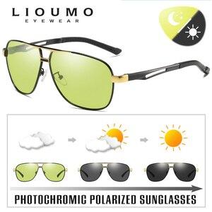 Image 3 - Day Night Intelligent Photochromic Polarized Sunglasses Men Sunglasses for Drivers Women Safety Driving UV400 Sun Glasses Oculos