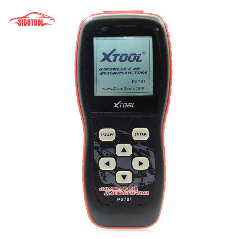 Free Shipping High quality xtool PS701 JP diagnostic tool OBD2 Code Scanner for Almost all Japanese Cars