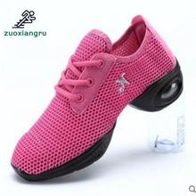 Brand Dancing Shoes For Women Jazz Sneaker New Salsa Dance Sneakers For Woman Ballroom Dance Shoes Wedge Sneakers