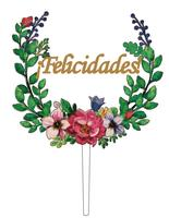 Personalized customization Personalized customization Acrylic Theme Bride & Groom Wedding Cake Topper Party Decoration