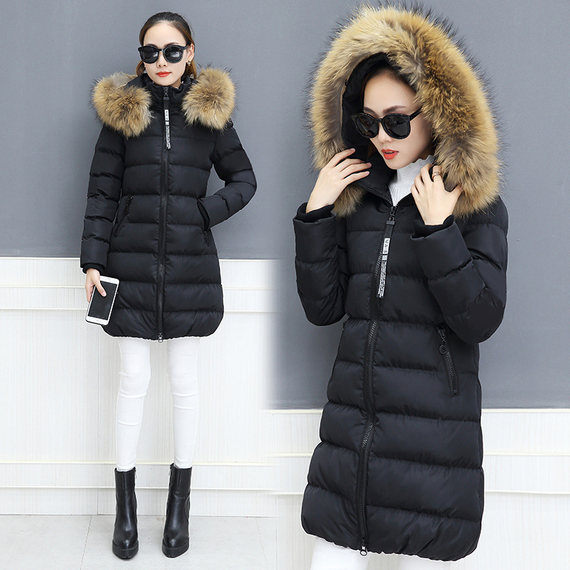 rose Femmes Noir Manteau Vestes gris Épais La 5xl Chaud Coton Manteaux Taille M D'hiver Plus Femme Parka rouge Long De 1pqwUaza
