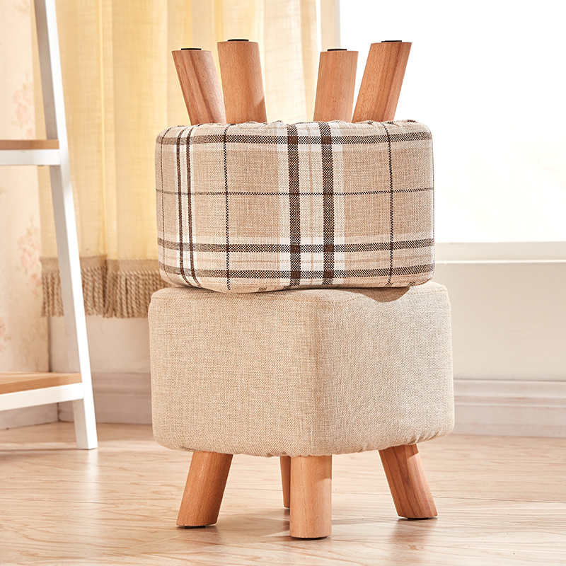 FurnitureSmall Stool,Sofa,Creative Tea Table Stool-in